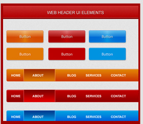 web-header-ui-elements