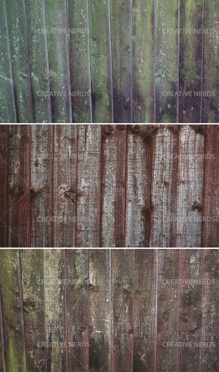 rusty wooden panels Worn wooden panel texture set