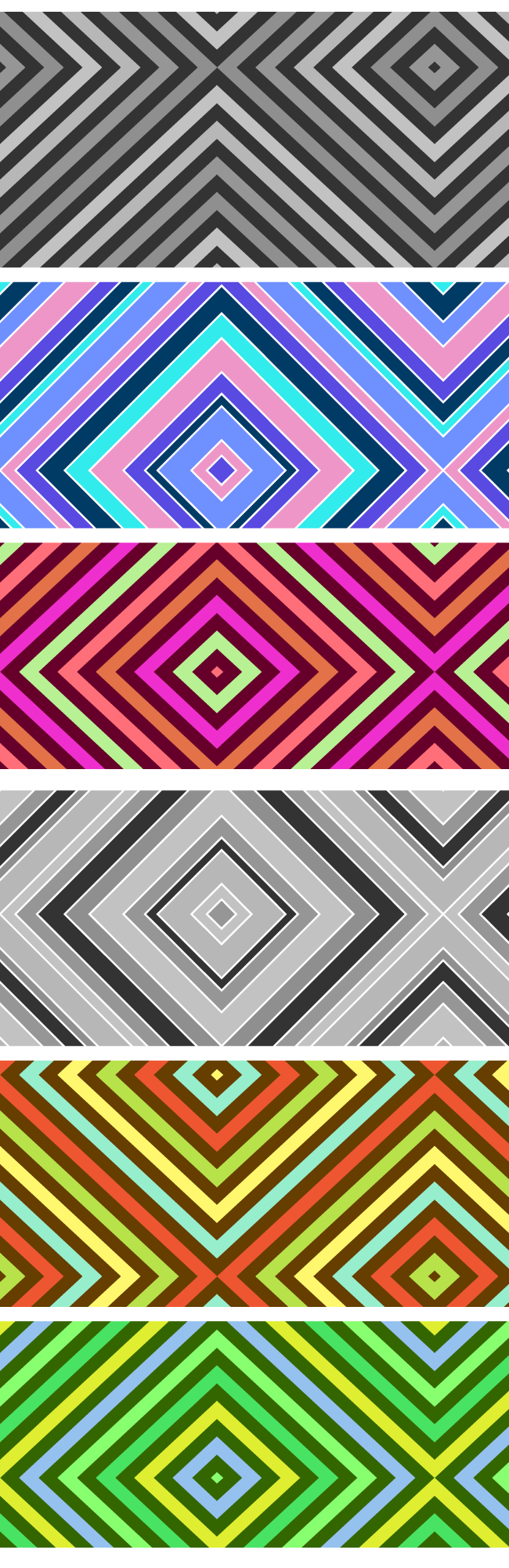stripes pattern Diamond stripes seamless vector pattern