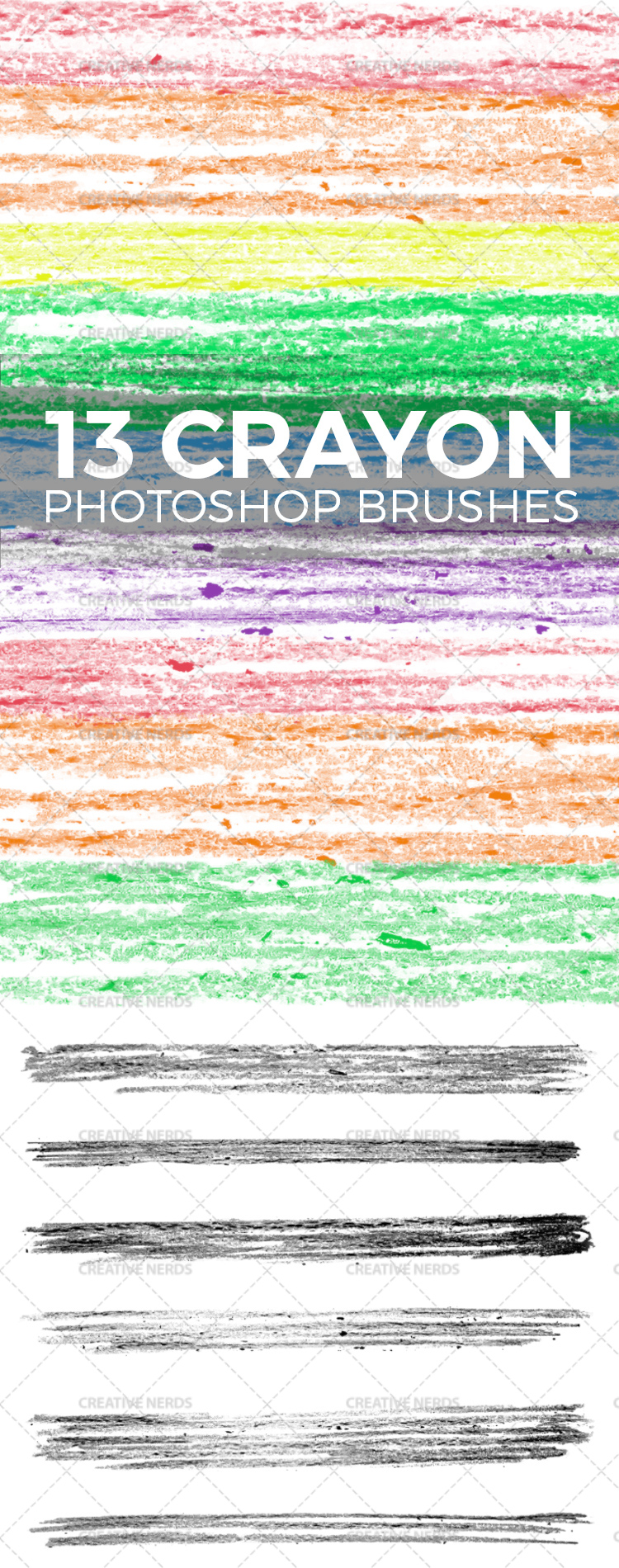 wax crayon photoshop brushes 13 Wax Crayon Photoshop brushes