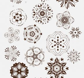 big-decorative-vector-set