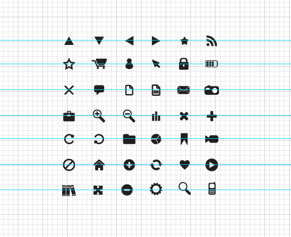 new min icons priew 42 Mobile Pixel Perfect Vector Icons