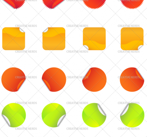 sticker-vectors