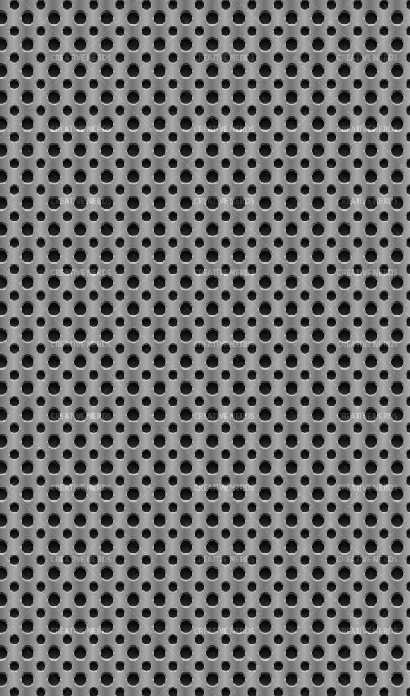 metal watermarked pattern Metal seamless scalable vector pattern