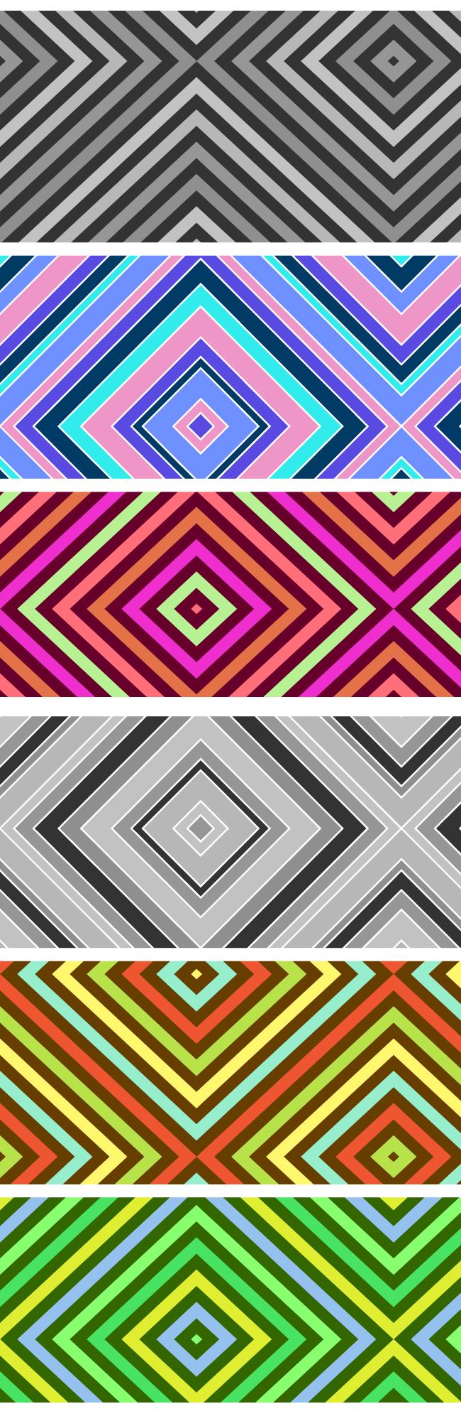 stripes pattern Premium: Diamond stripes seamless vector pattern
