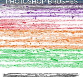 crayon-photoshop-brushes
