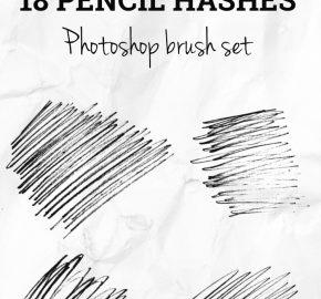 pencil-hashes-photoshop-brush-set