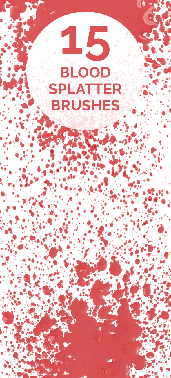 Blood-spaltter-brush-set
