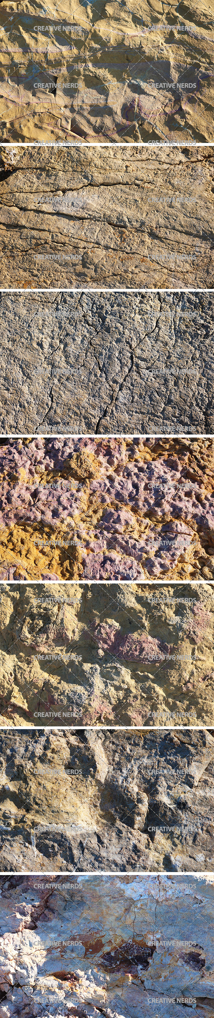 rock texture Close up rock free texture set
