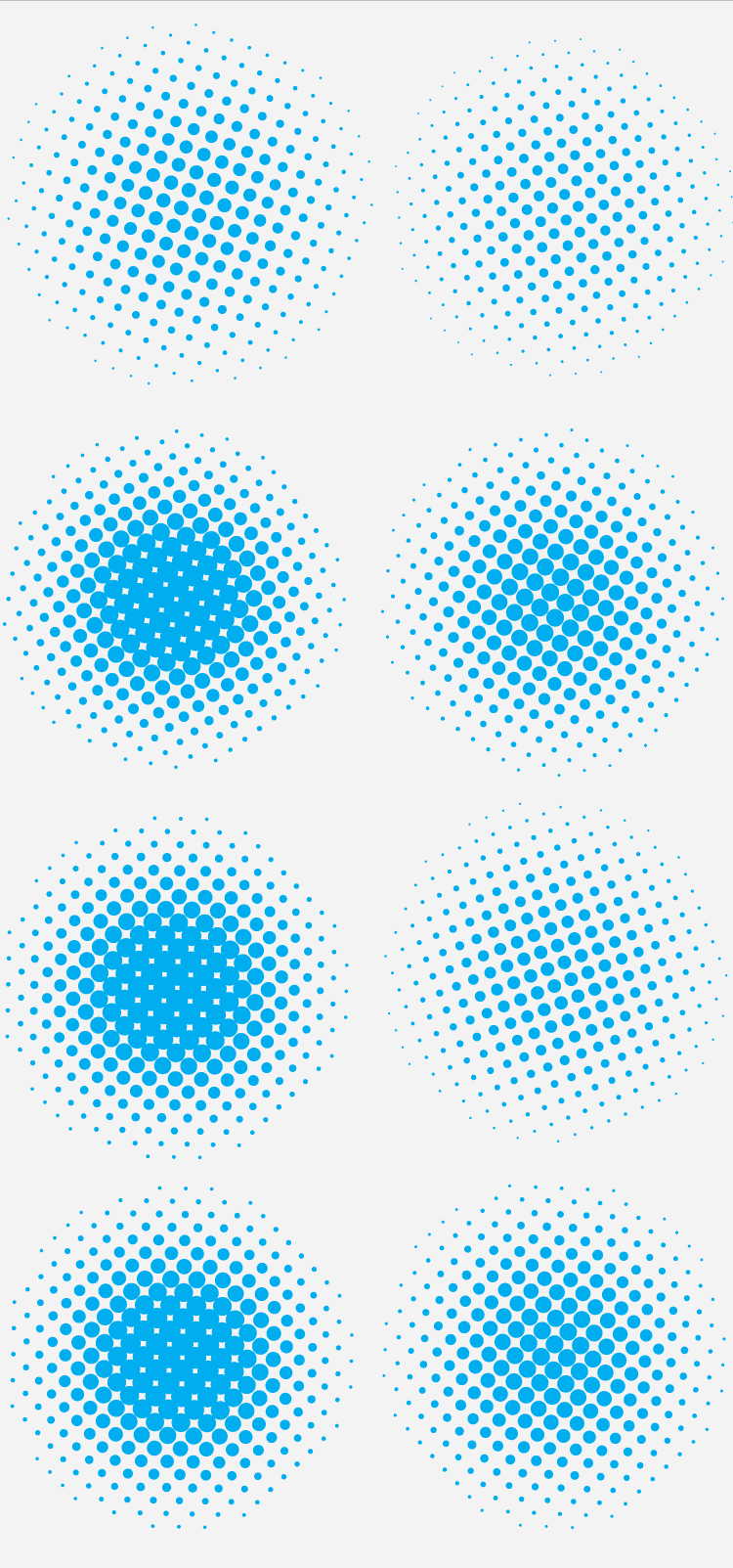 halftone abstract vectors Halftone abstract vectors