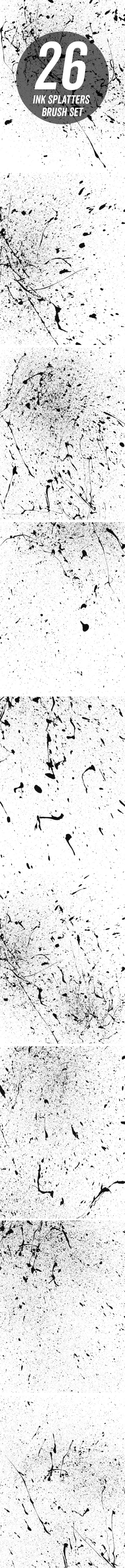 ink-splatters