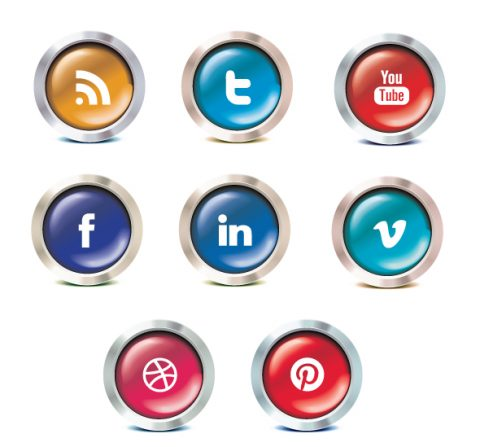 chrome-social-icon-set