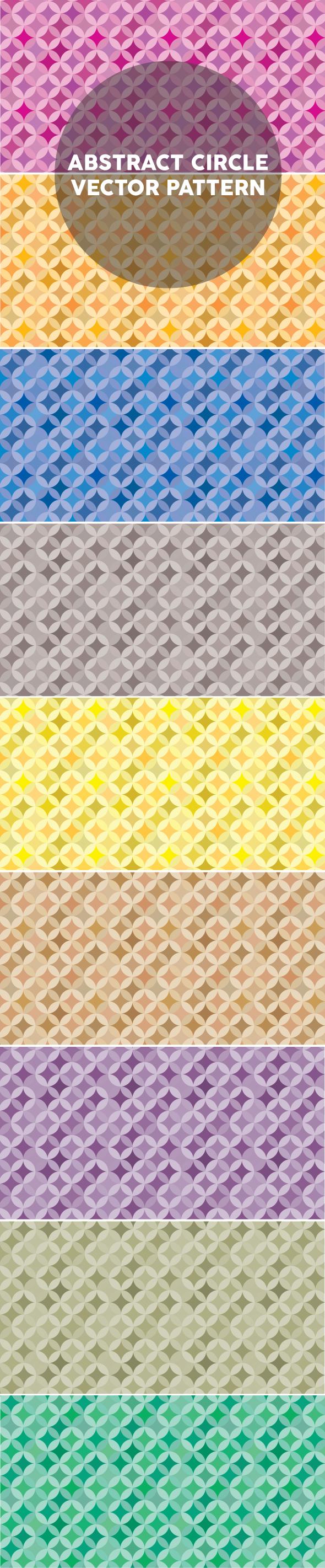 abstract circle pattern edition 2 Abstract circle seamless vector pattern edition 2